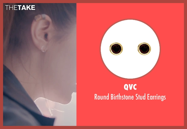 QVC gold earrings from Avengers: Age of Ultron seen with Elizabeth Olsen (Wanda Maximoff / Scarlet Witch)