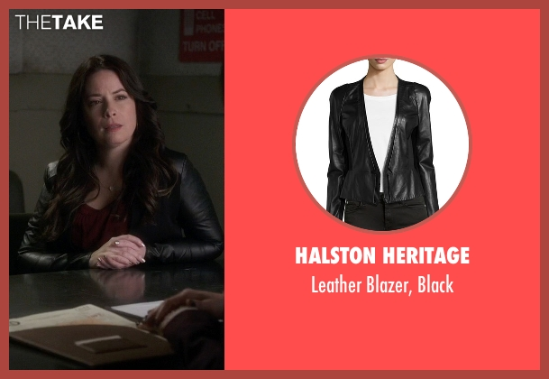 Halston Heritage black black from Pretty Little Liars seen with Ella Montgomery (Holly Marie Combs)