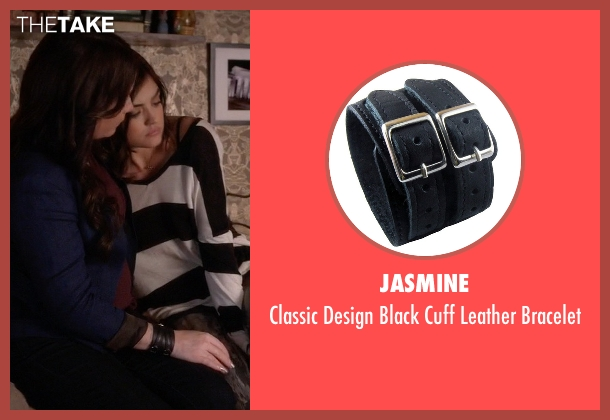 Jasmine black bracelet from Pretty Little Liars seen with Ella Montgomery (Holly Marie Combs)