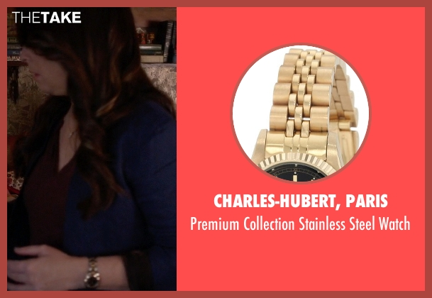 Charles-Hubert, Paris gold watch from Pretty Little Liars seen with Ella Montgomery (Holly Marie Combs)
