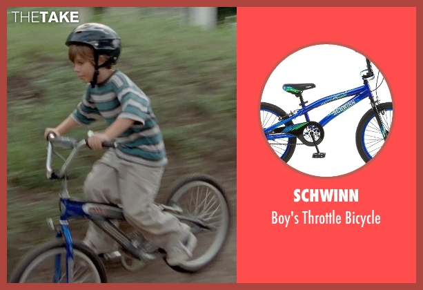 Schwinn bicycle from Boyhood seen with Ellar Coltrane (Mason)
