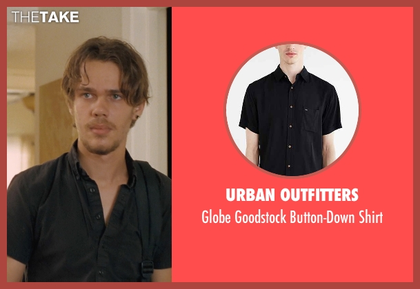 Urban Outfitters black shirt from Boyhood seen with Ellar Coltrane (Mason)