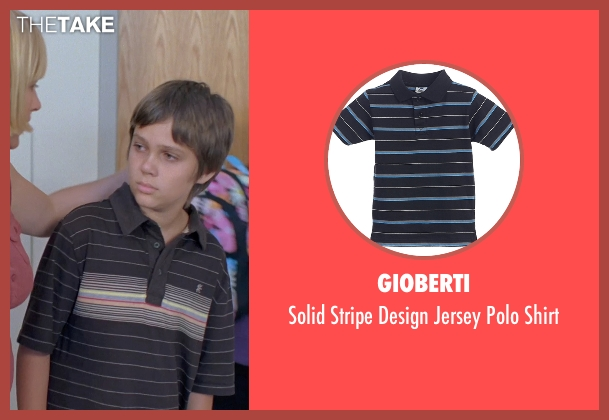Gioberti black shirt from Boyhood seen with Ellar Coltrane (Mason)