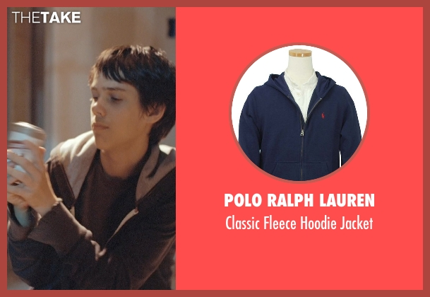 Polo Ralph Lauren blue jacket from Boyhood seen with Ellar Coltrane (Mason)