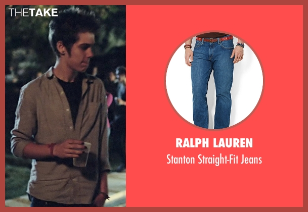 Ralph Lauren blue jeans from Boyhood seen with Ellar Coltrane (Mason)