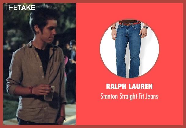 Ralph Lauren blue jeans from Boyhood seen with Ellar Coltrane (Mason)