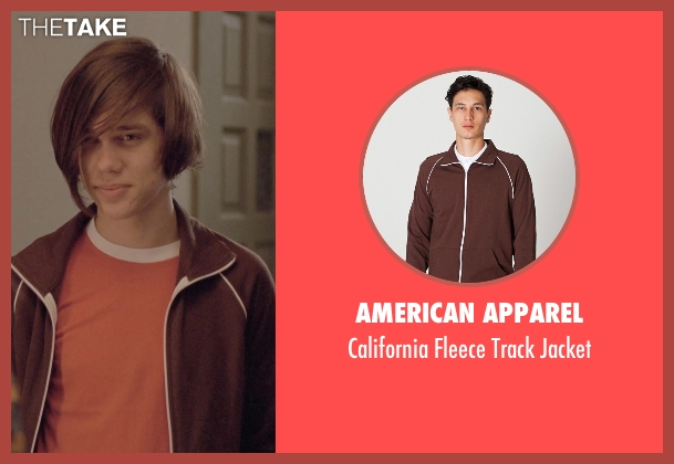American Apparel brown jacket from Boyhood seen with Ellar Coltrane (Mason)