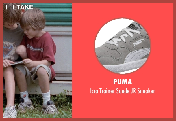 Puma gray sneaker from Boyhood seen with Ellar Coltrane (Mason)