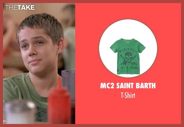 Mc2 Saint Barth green t-shirt from Boyhood seen with Ellar Coltrane (Mason)