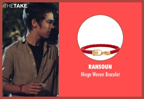 Ransoun red bracelet from Boyhood seen with Ellar Coltrane (Mason)