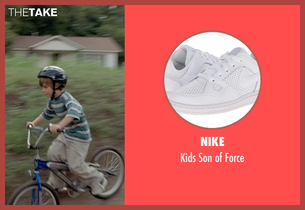Nike white force from Boyhood seen with Ellar Coltrane (Mason)