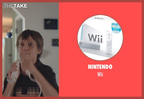 Nintendo wii from Boyhood seen with Ellar Coltrane (Mason)