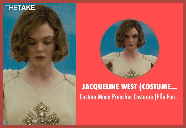 Jacqueline West (Costume Designer) costume from Live By Night seen with Elle Fanning (Loretta Figgis)