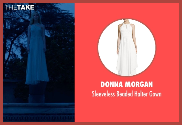 Donna Morgan white gown from The Neon Demon seen with Elle Fanning (Jesse)