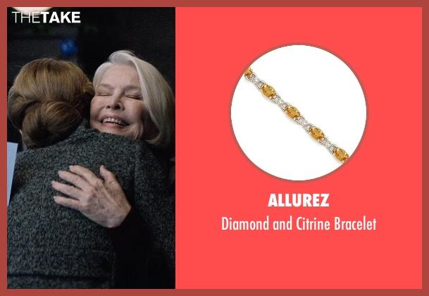 Allurez gold bracelet from The Age of Adaline seen with Ellen Burstyn (Flemming)