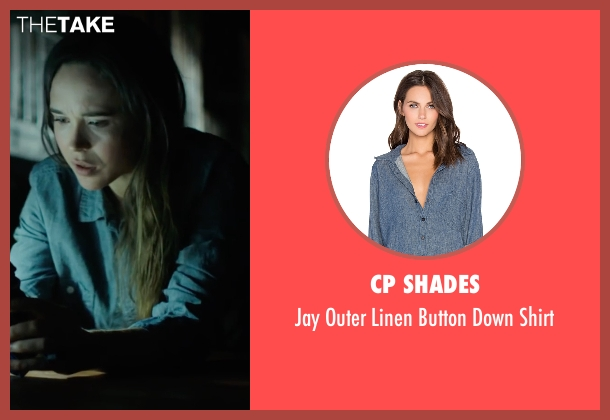 CP Shades blue shirt from Into the Forest seen with Ellen Page (Nell)