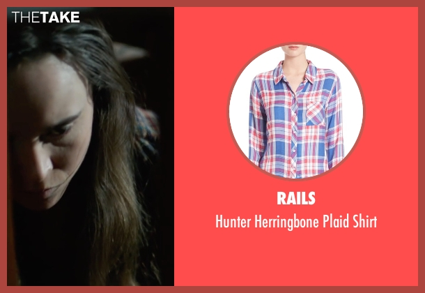 Rails blue shirt from Into the Forest seen with Ellen Page (Nell)