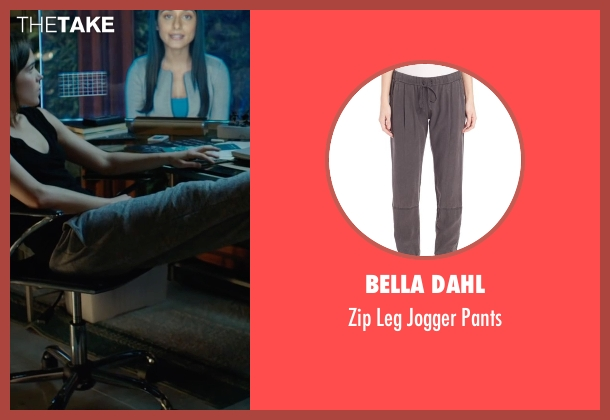 Bella Dahl gray pants from Into the Forest seen with Ellen Page (Nell)