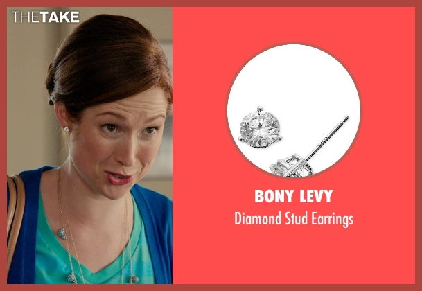 Bony Levy earrings from Laggies seen with Ellie Kemper (Allison)