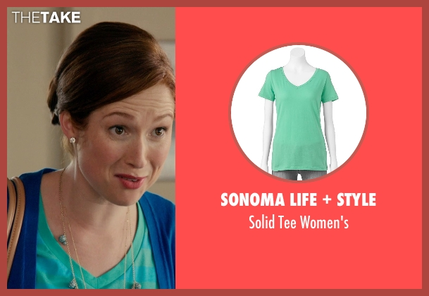 SONOMA Life + Style green women's from Laggies seen with Ellie Kemper (Allison)