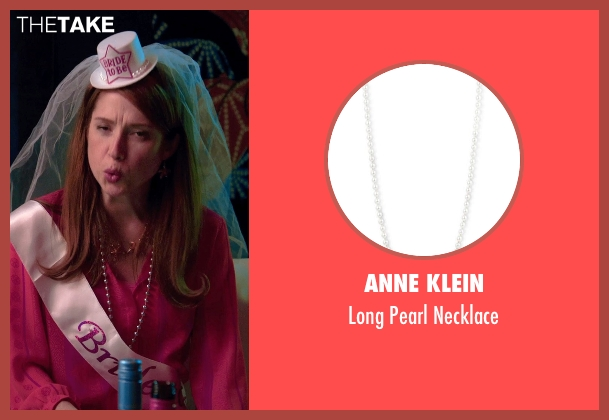Anne Klein necklace from Laggies seen with Ellie Kemper (Allison)