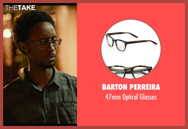 Barton Perreira glasses from Let's Be Cops seen with Elliott Dixon (Dude #2)