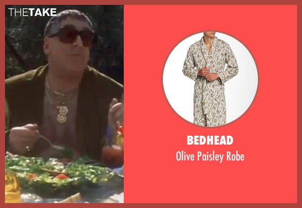 Bedhead green robe from Ocean's Eleven seen with Elliott Gould (Reuben Tishkoff)