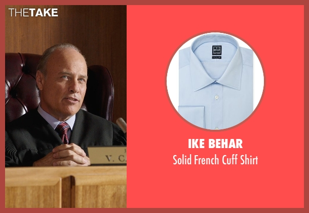 Ike Behar blue shirt from Get Hard seen with Elliott Grey (Judge)