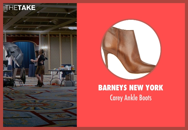 Barneys New York brown boots from Fifty Shades of Grey seen with Eloise Mumford (Kate Kavanagh)