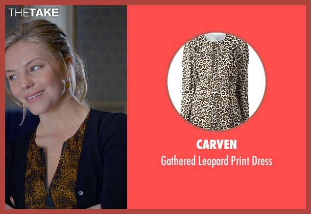 Carven brown dress from Fifty Shades of Grey seen with Eloise Mumford (Kate Kavanagh)
