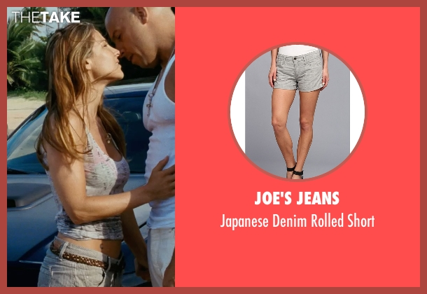 Joe's Jeans gray short from Fast Five seen with Elsa Pataky (Elena)