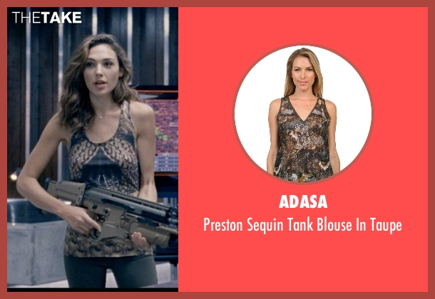 Adasa brown taupe from Fast & Furious 6 seen with Elsa Pataky (Elena)