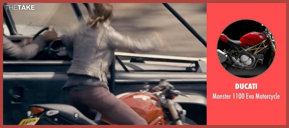 Ducati motorcycle from Fast & Furious 6 seen with Elsa Pataky (Elena)