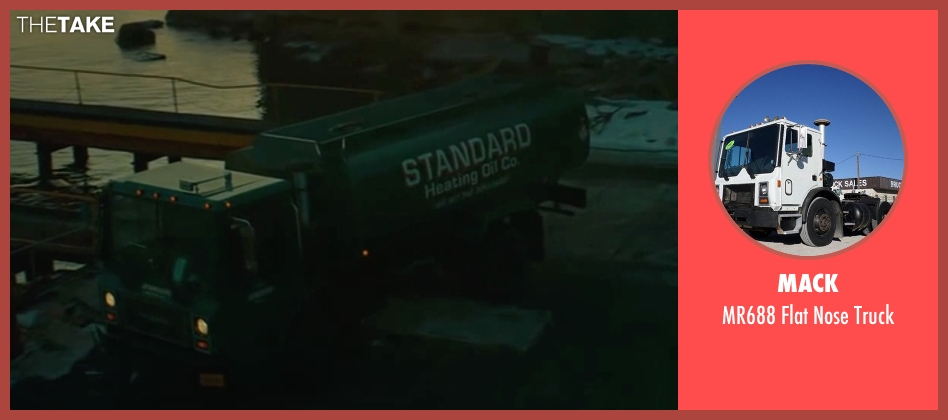 Mack truck from A Most Violent Year seen with Elyes Gabel (Julian)