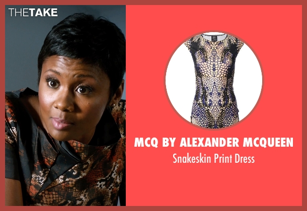 McQ By Alexander McQueen dress from Addicted seen with Emayatzy Corinealdi (Brina)