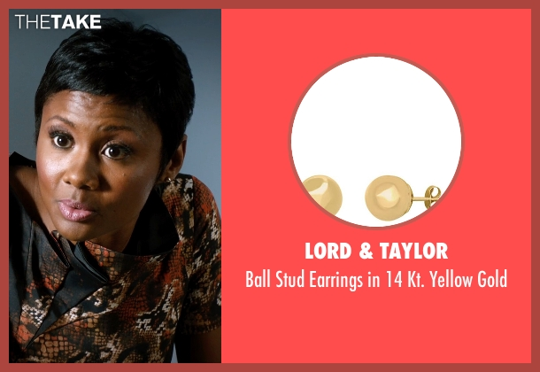 Lord & Taylor gold gold from Addicted seen with Emayatzy Corinealdi (Brina)
