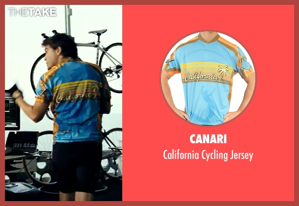 Canari blue jersey from Savages seen with Emile Hirsch (Spin)