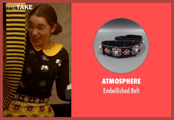 Atmosphere belt from Me Before You seen with Emilia Clarke (Lou Clark)