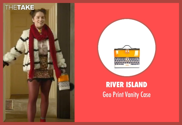 River Island orange case from Me Before You seen with Emilia Clarke (Lou Clark)