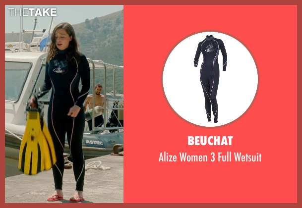 Beuchat black wetsuit from Me Before You seen with Emilia Clarke (Lou Clark)