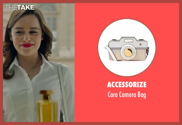 Accessorize white bag from Me Before You seen with Emilia Clarke (Lou Clark)