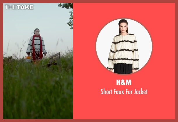 H&M white jacket from Me Before You seen with Emilia Clarke (Lou Clark)