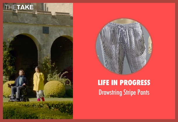 Life In Progress white pants from Me Before You seen with Emilia Clarke (Lou Clark)