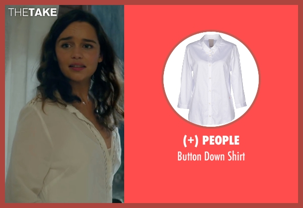 (+) People white shirt from Me Before You seen with Emilia Clarke (Lou Clark)