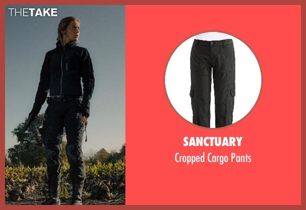 SANCTUARY black pants from Edge of Tomorrow seen with Emily Blunt (Rita Vrataski)