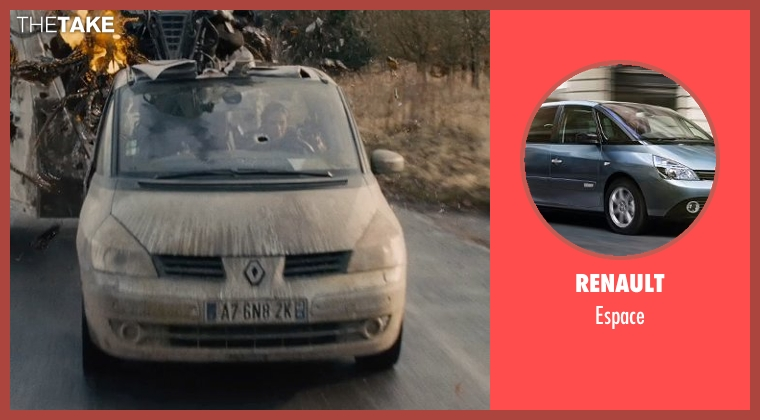 Renault espace from Edge of Tomorrow seen with Emily Blunt (Rita Vrataski)