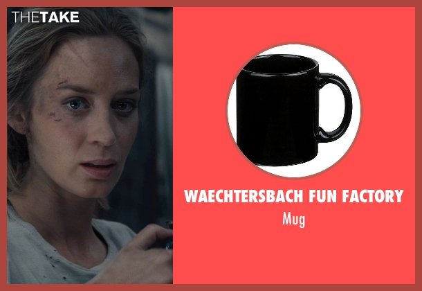 WAECHTERSBACH FUN FACTORY mug from Edge of Tomorrow seen with Emily Blunt (Rita Vrataski)