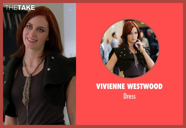 Vivienne Westwood black dress from The Devil Wears Prada seen with Emily Blunt (Emily Hobbs)