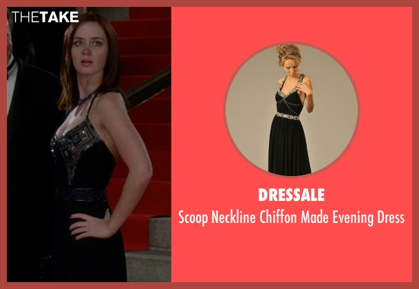 DresSale black dress from The Devil Wears Prada seen with Emily Blunt (Emily Hobbs)