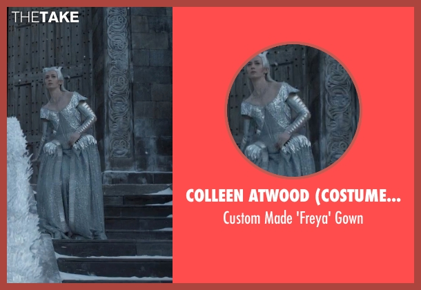 Colleen Atwood (Costume Designer) gown from The Huntsman: Winter's War seen with Emily Blunt (Freya)